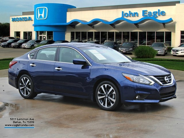 pre-owned 2017 nissan altima 2.5 sr 4d sedan #hp8846 | john eagle