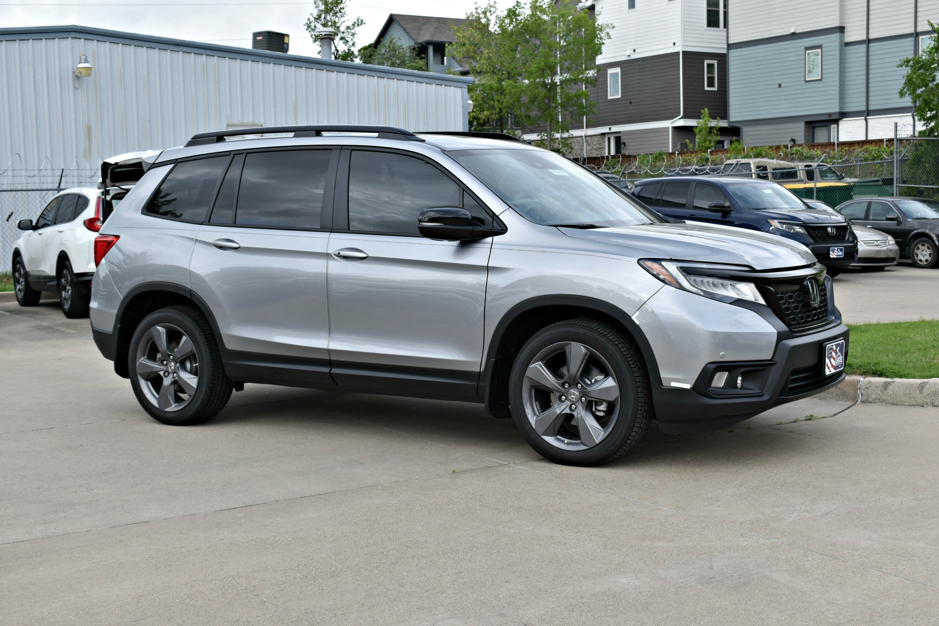 New 2019 Honda Passport Touring Fwd Front Wheel Drive Suv