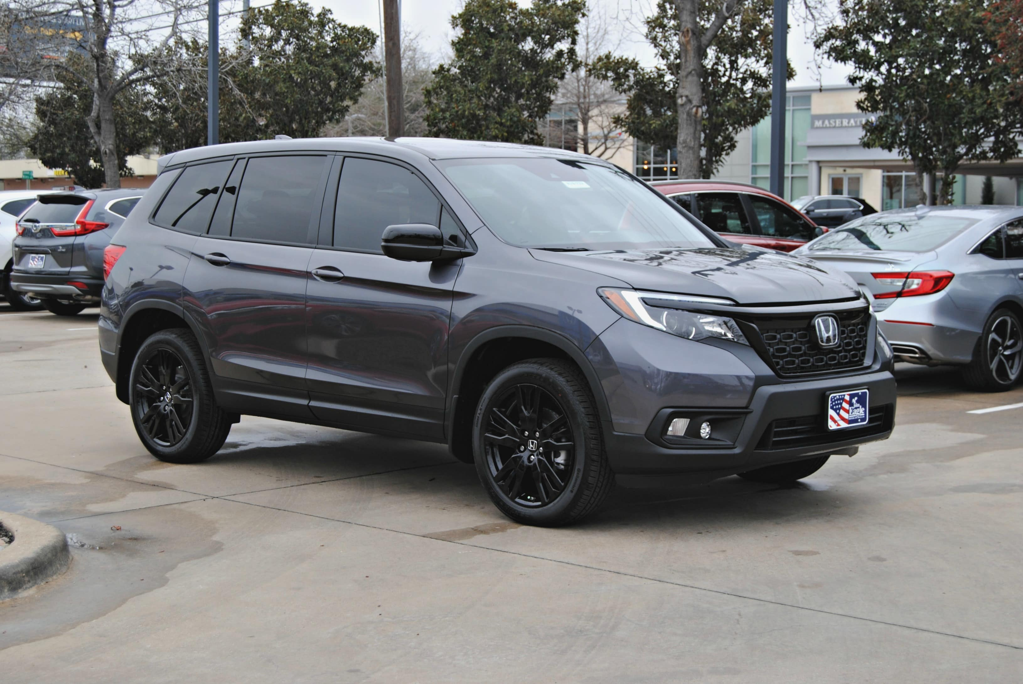 New 2019 Honda Passport Sport Awd Suv H19 732 John Eagle Dealerships