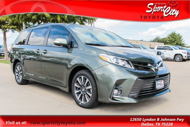 New 2019 Toyota Sienna Limited