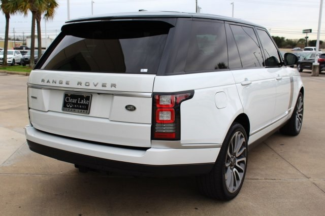 Pre-Owned 2015 Land Rover Range Rover 5.0L V8 Supercharged Autobiography