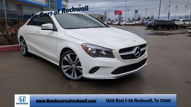 Pre Owned 2017 Mercedes Benz Cla 250