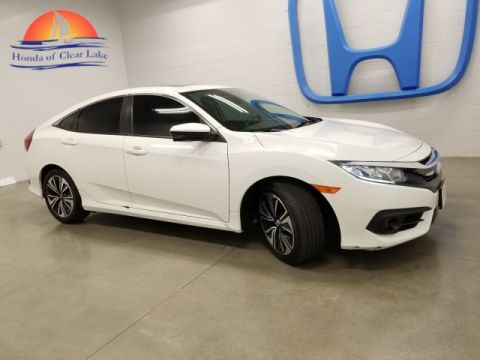 Pre-Owned 2016 Honda Civic Sedan EXL