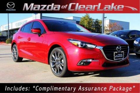 "New 2018 Mazda3 Grand Touring w/***18"" ALLOY WHEELS & LEATHER SEATING****"