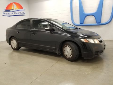 Pre-Owned 2009 Honda Civic Hybrid Sedan